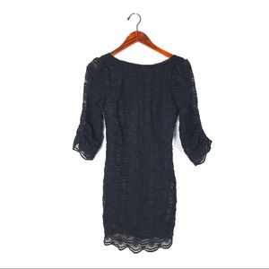 Tracy Reese Frock dress 2 lace 3/4 sleeve floral